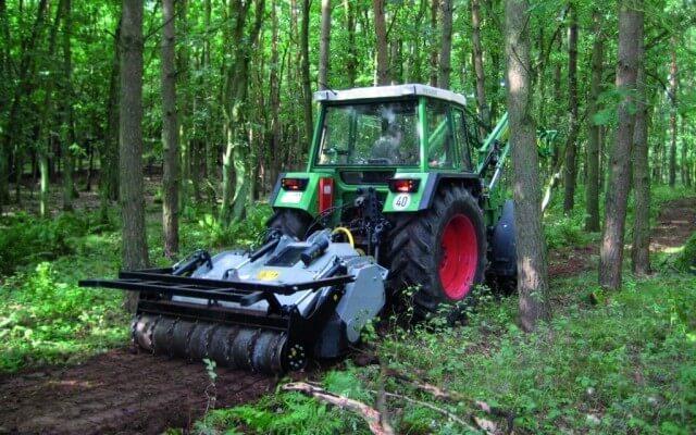 Frezy leśne do prac wgłębnych