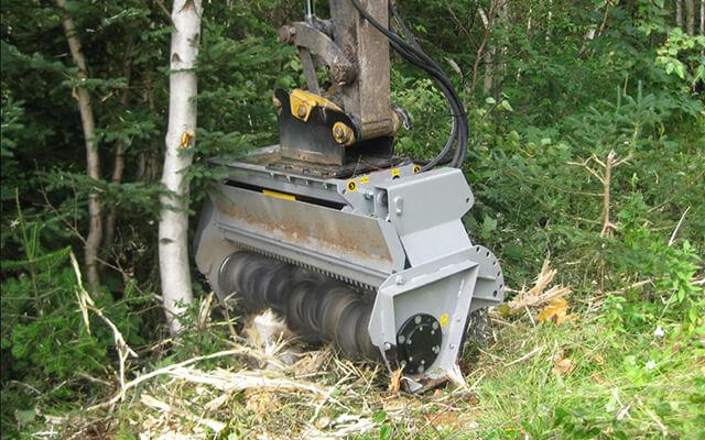 Mulczery hydrauliczne do koparek