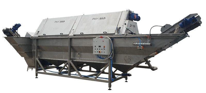 Pro-Vega myjnia bębnowa z odkamieniaczem MBWL